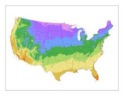 Growing Zone Chart Usa United States Plant Zone Map Plantaddicts Com