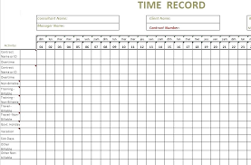 Time Log Excel Template – Custosathletics.co