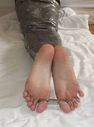 Feet in bondage pictures