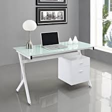 contemporary glass office desk. Modern Glass Office Desk Awesome Tips To Black Puter Contemporary K