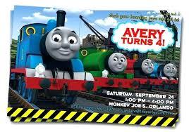 Train Birthday Party Invitations Free Printable The Invitation