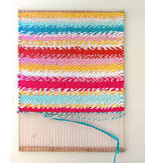how to build a simple adjustable rug loom and weave a beautiful t shirt rug
