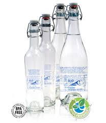 h2o international refillable glass water bottles h2o glass bottle 500ml sparkling