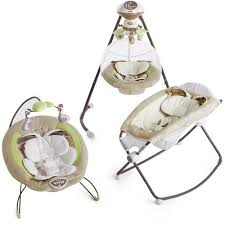 Fisher-Price - My Little Snugabunny Swing and Bouncer Set: Gear ...