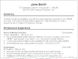 Examples Of Qualifications For Resumes Summary Of Qualifications Resume Example Joefitnessstore Com