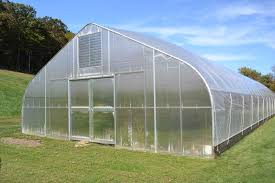 Hoop House End Wall Design High Tunnel Greenhouse Rimol Greenhouses