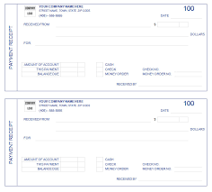 free receipt form outstanding custom payment receipt form template with blue color