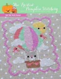 Cross Stitching Patterns Adorable Up Up And Away PDF Cross Stitch Pattern The Frosted Pumpkin