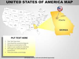 Usa Country Powerpoint Maps Ppt Images Gallery