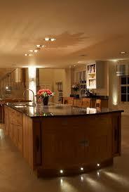 lighting kitchens. Kitchen Lighting In The Evening Kitchens
