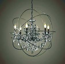 crystal halo chandelier restoration hardware crystal chandelier restoration hardware orb smoke crystal chandelier matte natural iron