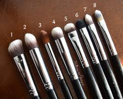 sigma cream synthetic eyeshadow brushes review