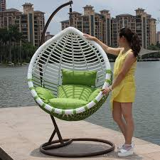 crude rattan basket hanging chairs outdoor leisure spider balcony