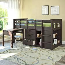 loft bed shelves image of home kids with storage beds desk bundle