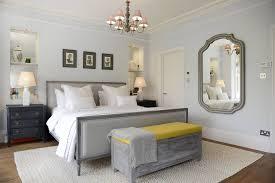 Skandinavische Schlafzimmer Von Potter Home Grau Gelb