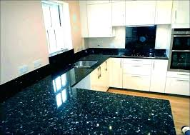 leathered granite countertops black pearl absolute sealing cost kitchen