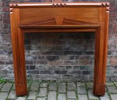 1920s fire surround in gany art deco gany fire surround