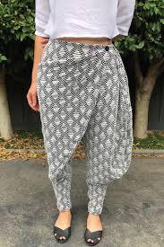 Wrap Pants Pattern Best Indu Wrap Pants Sewing Pattern PDF Designer Stitch