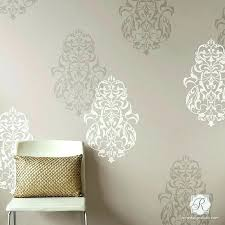 geometric wall stencils wall design stencil bohemian decor with large wall stencils royal design studio wall