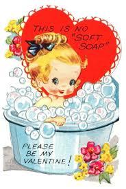 bath clipart heart best vintage valentine