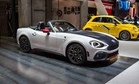 2017 Abarth 124 Spider Official Photos and Info | News | Car and ...