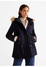sylvia winter coat navy blue
