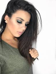 jaclyn hill dark hair. olive fall look using jacklyn hill x morphe palette-4.jpg jaclyn dark hair