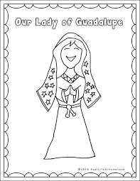 Our Lady Of Guadalupe Printables And Worksheet Packet