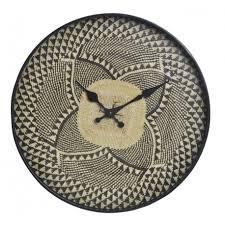 Reloj Decorativo Negro, Diseño étnico/Original. Ideal Para La Decoración  Del Hogar 34