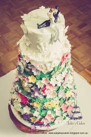 Jake S Cakes Midsummer Nights Dream Wedding Cake