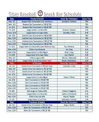 Team Snack Schedule Template League Schedule Template Free Round Robin 4 Team Excel
