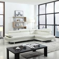 details about modern contemporary white faux leather sectional sofa living room set