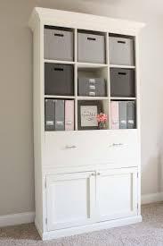 office storage cubbies. diy office storage cabinet bookcase cubbies