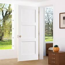 white interior 3 panel doors. Plain White 3Panel Door Kimberly Bay Interior Slab Shaker White Intended 3 Panel Doors