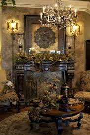Victorian Christmas Mantle Decor Idea. Source