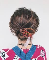 祭りヘアアレンジ12選浴衣に似合うおしゃれ小物も紹介feelyフィーリー