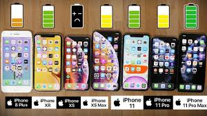 Xs Battery Chart Ultimate Iphone 2019 Battery Comparison Iphone 11 Pro Max Vs 11 Pro 11 Xs Max Xs Xr And 8 Plus
