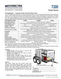 Trailer Light Requirements T300 Trailer Series Manualzz Com