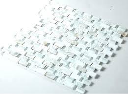 black and white mosaic tile backsplash gray marble glass metal grey blue crystal super stone kitchen