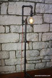 lighting industrial look. edison bulb floor lamp industrial style bare light steampunk lamps lighting look d