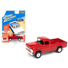 1959 Ford F-250 Pickup Truck Red