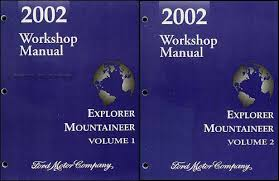 2002 ford explorer mercury mountaineer wiring diagram manual original 2002 ford explorer 4 door mercury mountaineer repair shop manual original set 149 00