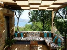 Stunning Corner Sofa Covered Terrace 50 Ideas For Patio Roof Of Modern  Houses
