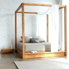 full size canopy bed curtains – disbalance.me