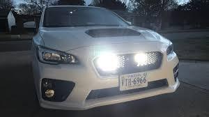 2015 Sti Rally Lights 2015 Subaru Wrx Ep 671 Dual Driving Lights Behind The Grill