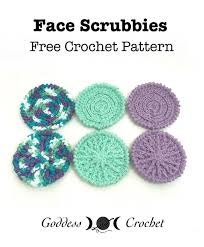 Free Crochet Patterns For Scrubbies Amazing Face Scrubbies Free Crochet Pattern Goddess Crochet