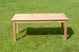 teak patio garden coffee table sloane