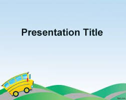 Ppt Background School Free Preschool Powerpoint Template