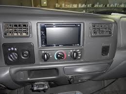 how to install a double din dvd stereo in a 99 03 ford super duty how to install a double din dvd stereo in a 99 03 ford super duty pickup or excursion