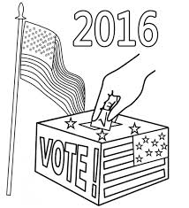 Explore Election Day Coloring Pages For